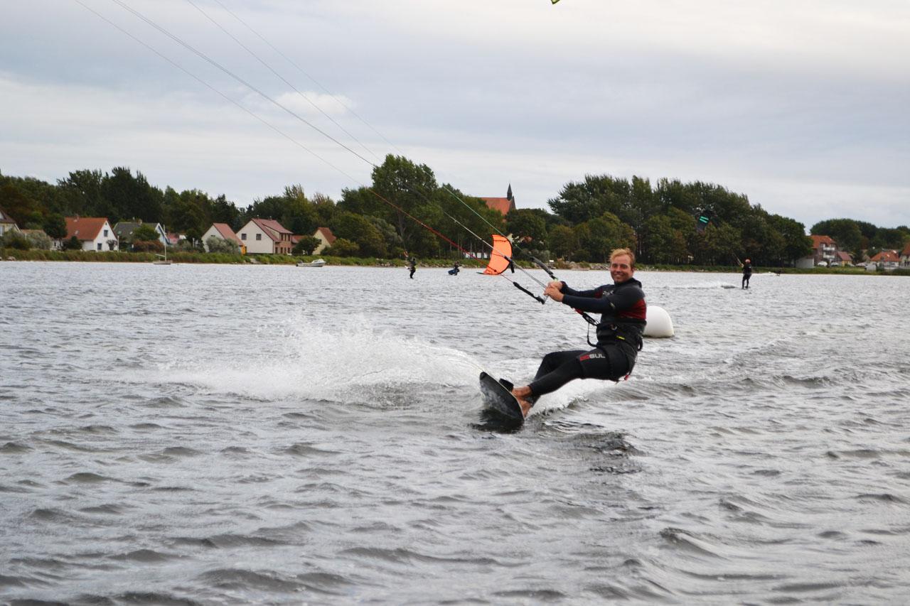 kiteboarding na slovensku