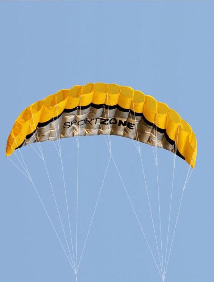Cvičný drak žltý