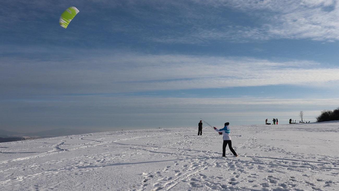 snowkiting kosice