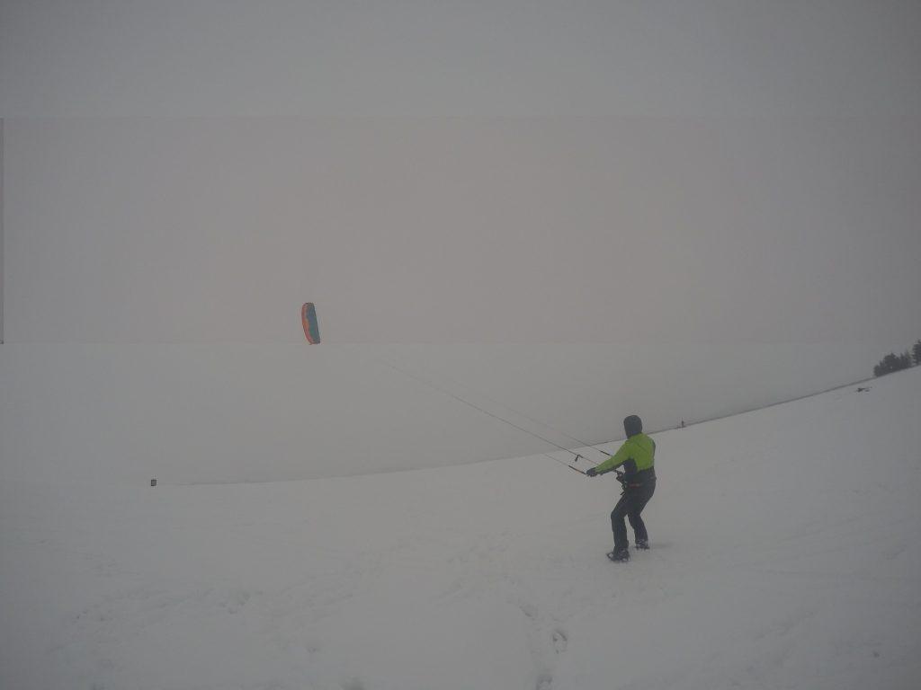 snowkiting kurz